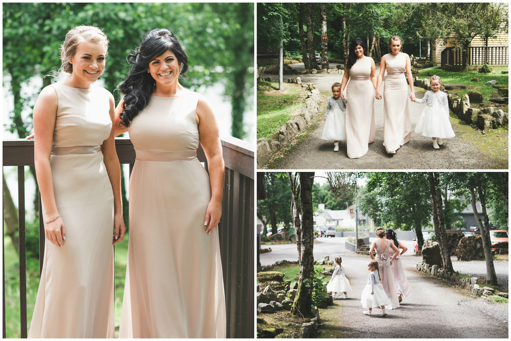 Lusty Beg Island Wedding Photographer Pure Photo N.I Bridesmaids ready