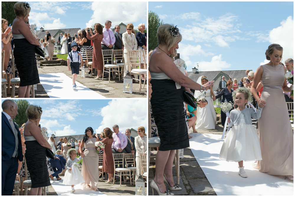 Lusty Beg Island Wedding Photographers Pure Photo N.I Bridesmaid Flower Girl