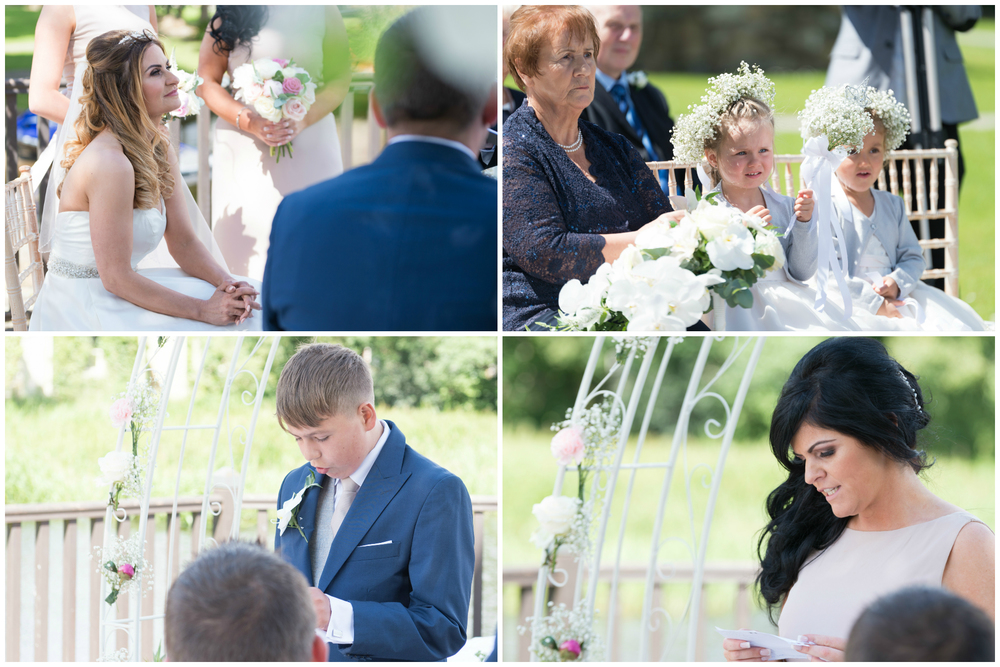 Lusty Beg Island Northern Ireland Wedding Photographers Pure Photo N.I Bride Groom Ceremony Readings