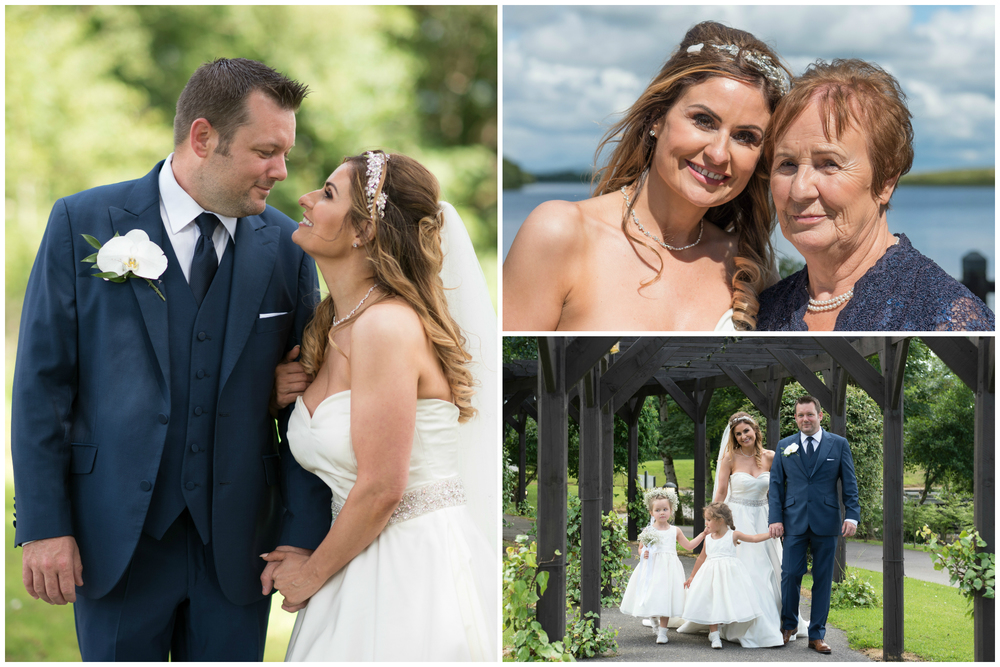 Lusty Beg Island Northern Ireland Wedding Photographers Pure Photo Brides mum and Bride