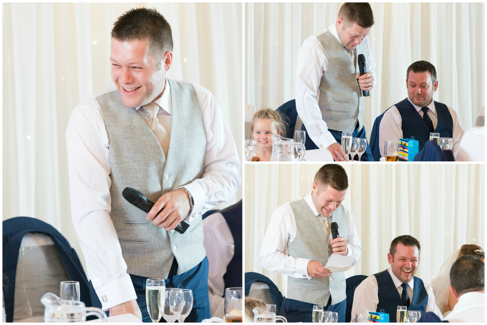 Lusty Beg Island Northern Ireland Wedding Photographers Pure Photo N.I best man speech