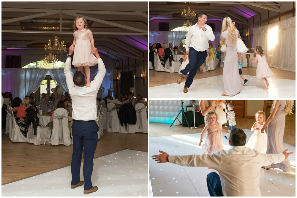 Lusty Beg Island Northern Ireland Wedding Photographers Pure Photo N.I kids dancing