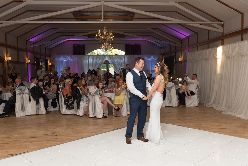 Lusty Beg Island Northern Ireland Wedding Photographers Pure Photo N.I bride groom dance