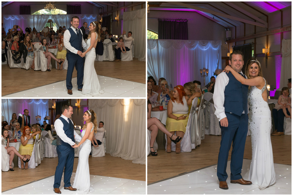 Lusty Beg Island Northern Ireland Wedding Photographers Pure Photo N.I bride groom dancing