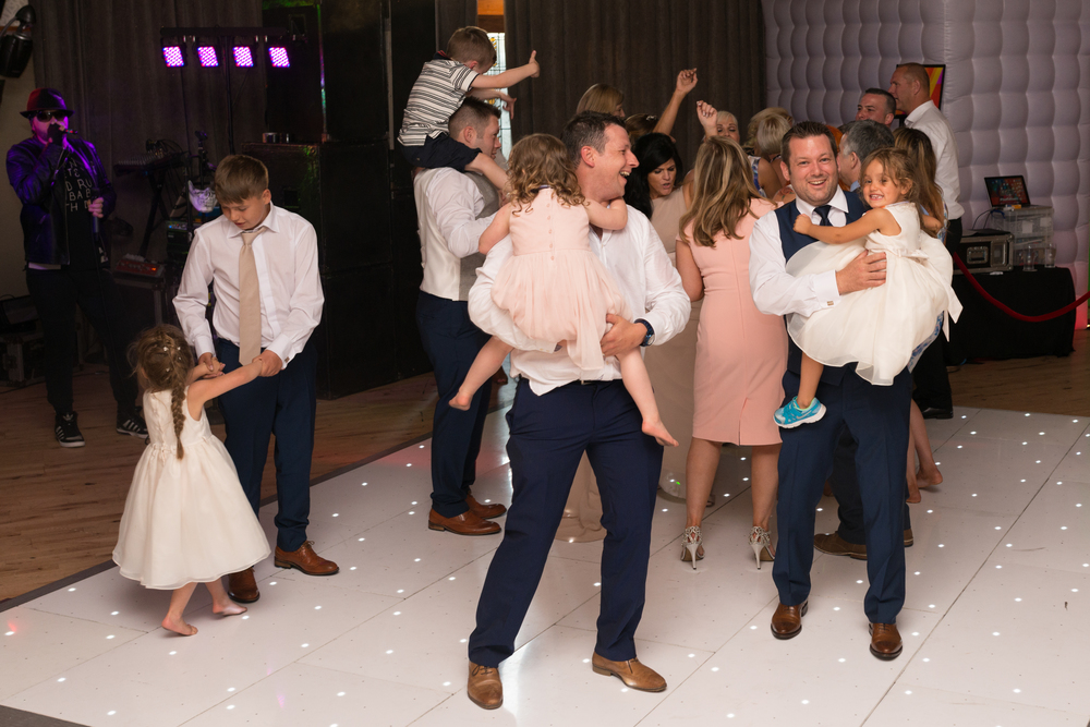 Lusty Beg Island Northern Ireland Wedding Photographers Pure Photo N.I the dads dancing
