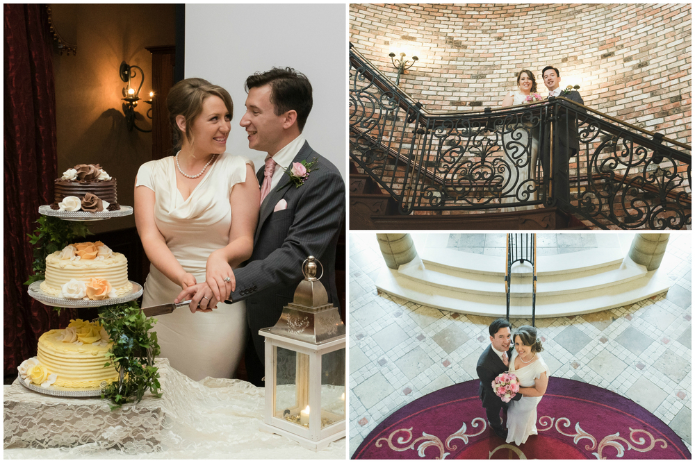 Canal Court Hotel Newry Wedding photographer Pure Photo N.I cutting of the cake