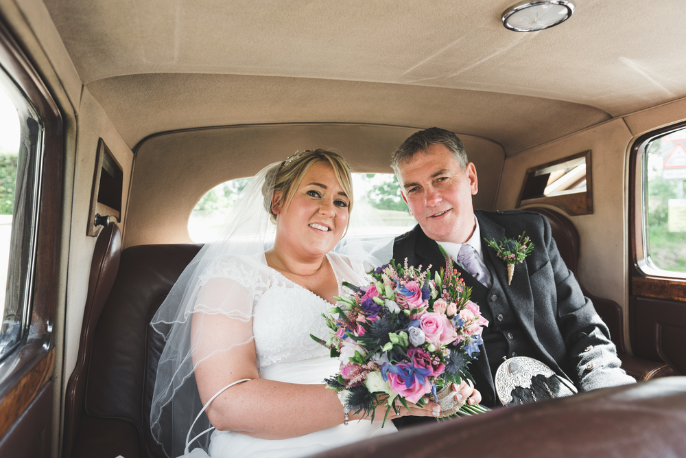 Lisburn Wedding Photographer Pure Photo N.I Magheragall Parish Church bride arival