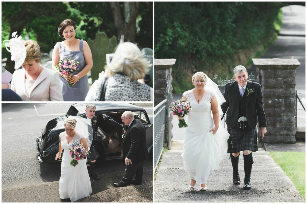 Lisburn Wedding Photographer Pure Photo N.I Magheragall Parish Church bridal car