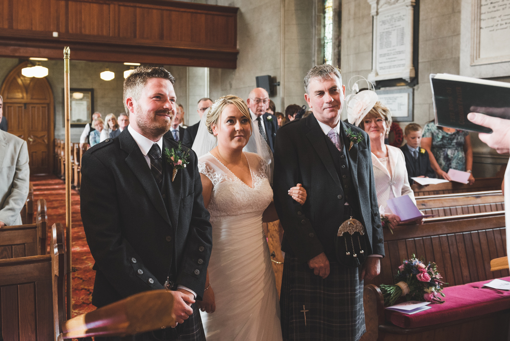Lisburn Wedding Photographer Pure Photo N.I Magheragall Parish Church ceremony bride groom