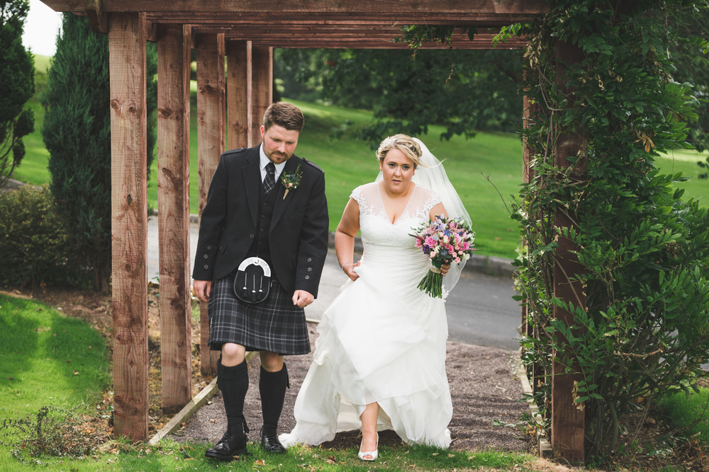 Lisburn Wedding Photographer Pure Photo N.I Edenmore Country Club groom and bride portrait