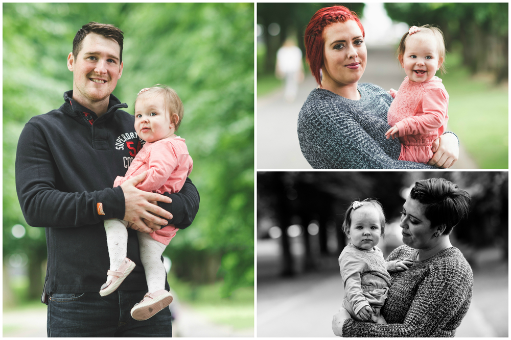 Family Portrait session Pure Photo N.I Lurgan Park Mum Dad Daughter