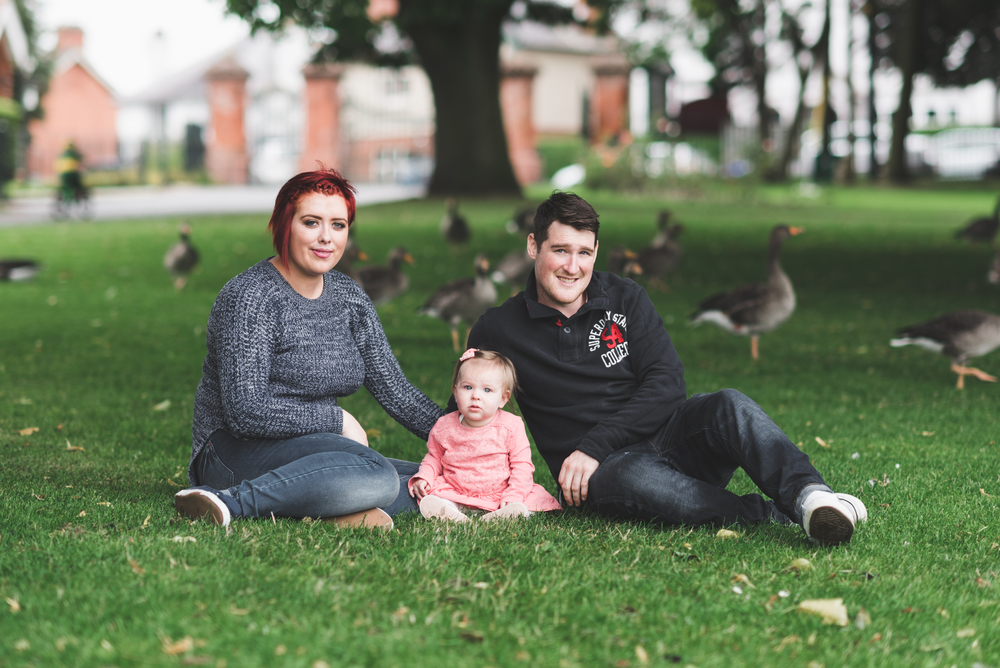 Family Photo session Pure Photo N.I Lurgan Park Duck Pond