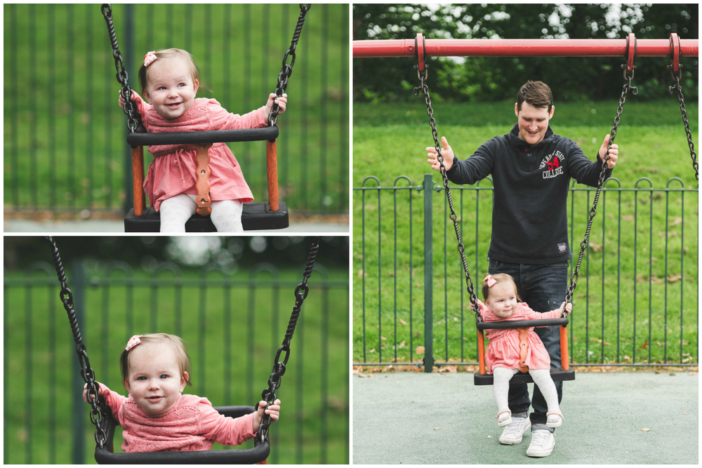 Family Photo session Pure Photo N.I Lurgan Park Swings