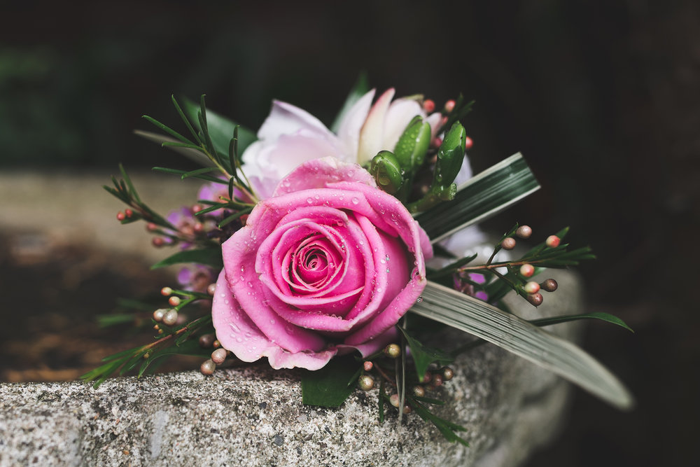 Lisburn Wedding Groom's buttonhole