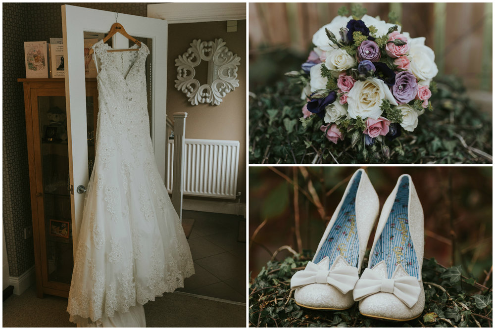 Limavady Wedding Pure Photo N.I Dress Shoes Flowers