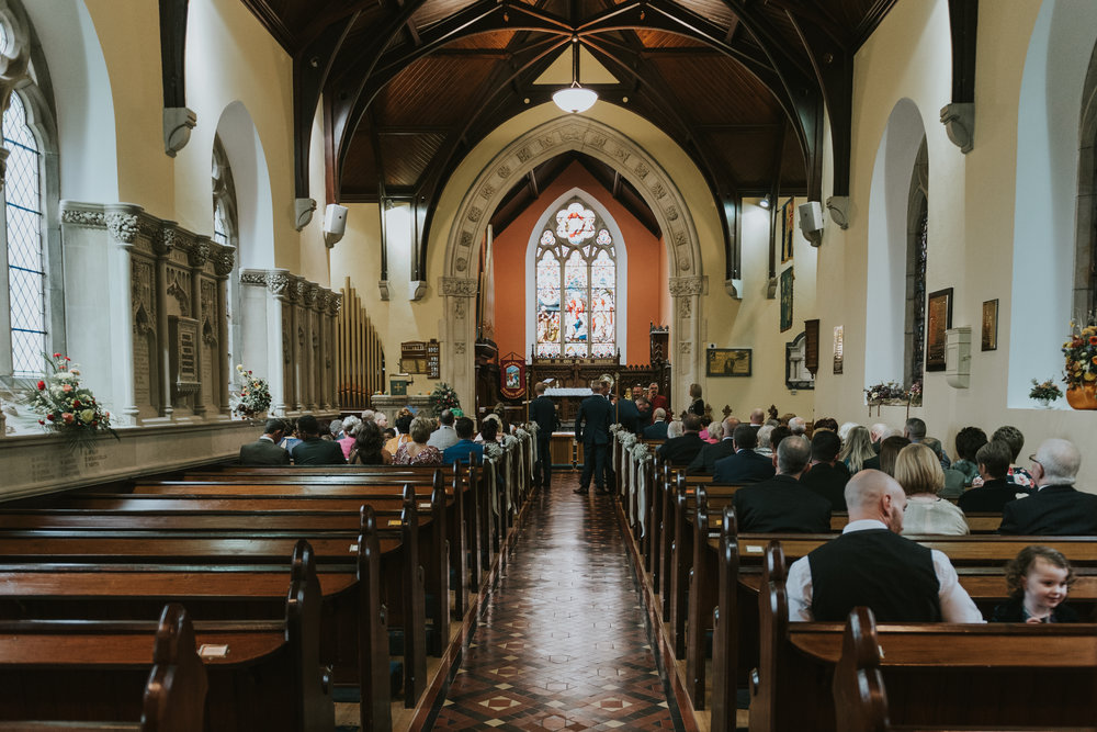 Christ Church Limavady wedding photographer Pure Photo N.I ready