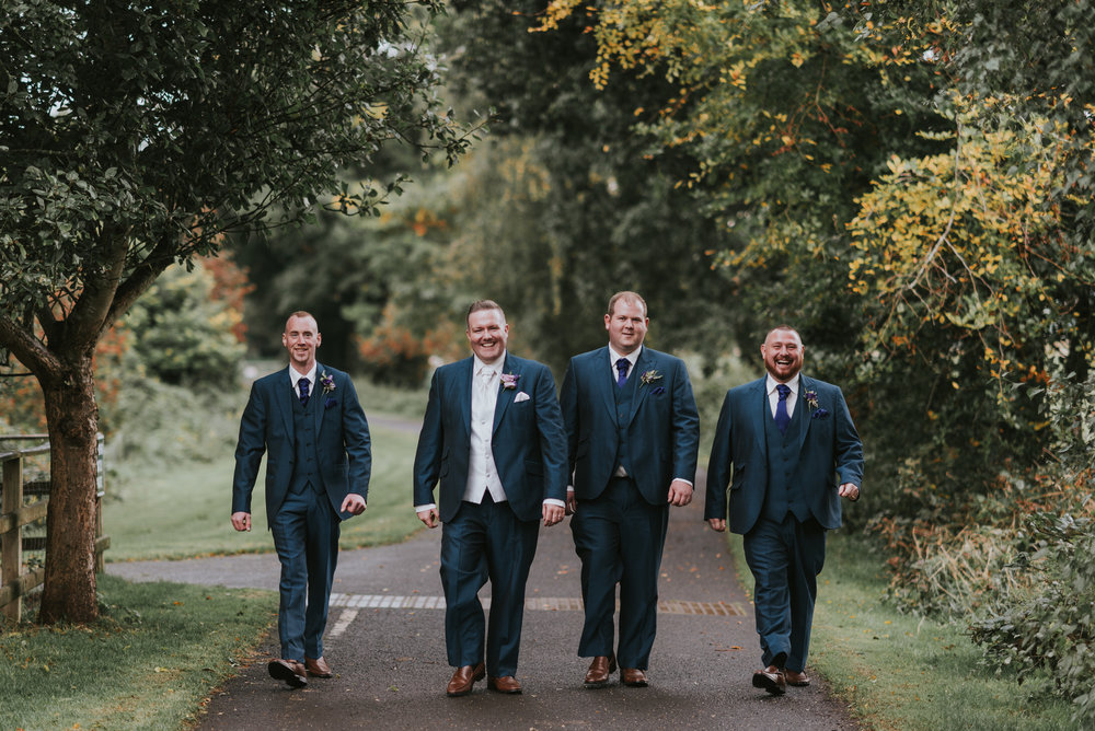 Roe Park Wedding Photographer Pure Photo N.I Groomsmen