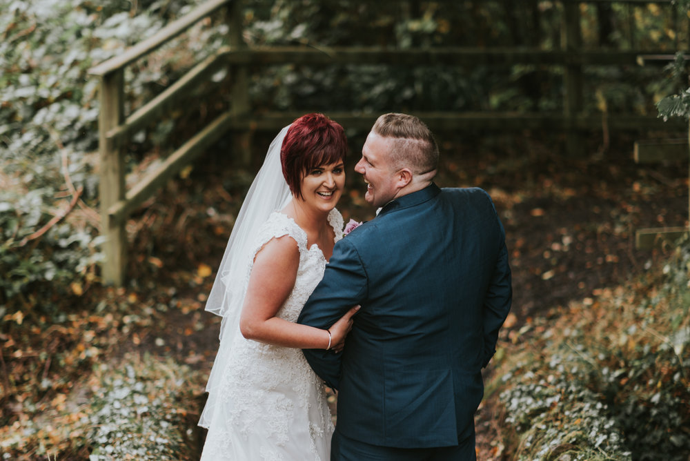 Roe Park Wedding Photographer Pure Photo N.I bride and groom portrait