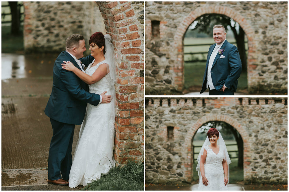 Roe Park Wedding Photography by Pure Photo N.I bride and groom