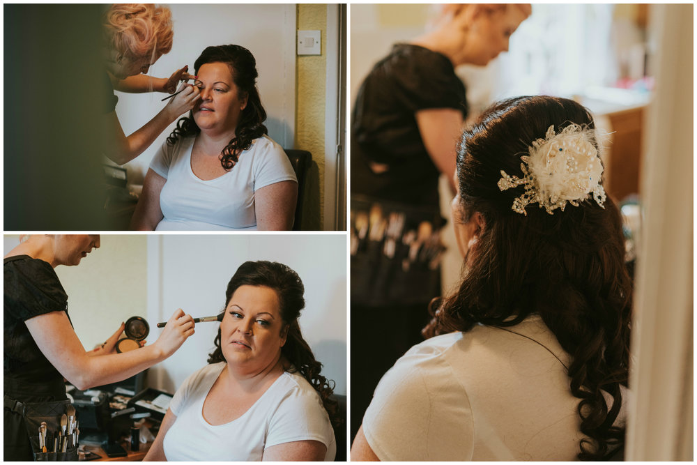 belfast wedding photographer pure photo n.i bridal make up