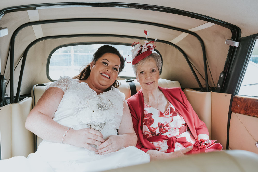 St. Pauls belfast wedding photographer pure photo n.i car