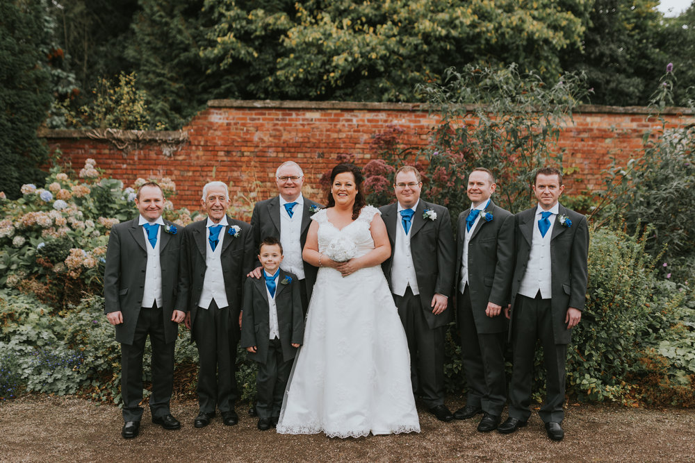 Lady dixon park belfast wedding photographer pure photo n.i bride and groomsmen