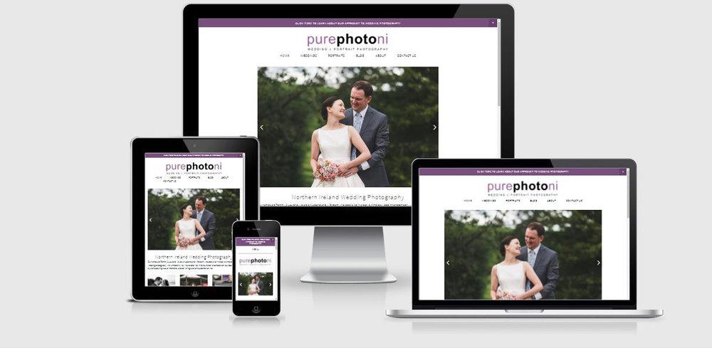 new pure photo n.i website