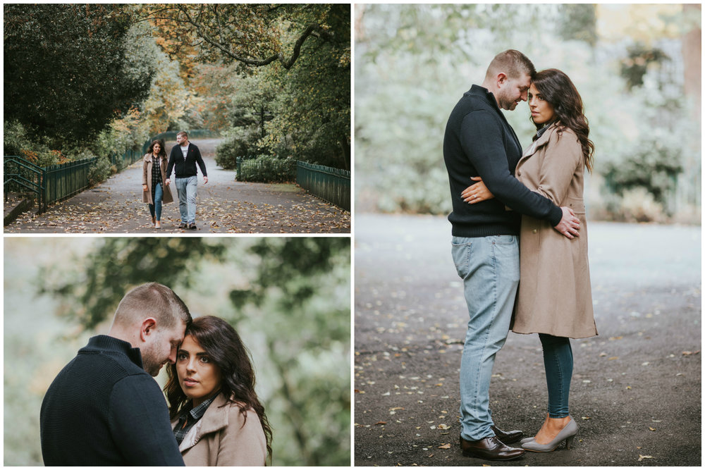 Botanic Gardens Belfast Engagement Session Joe and An-tonia