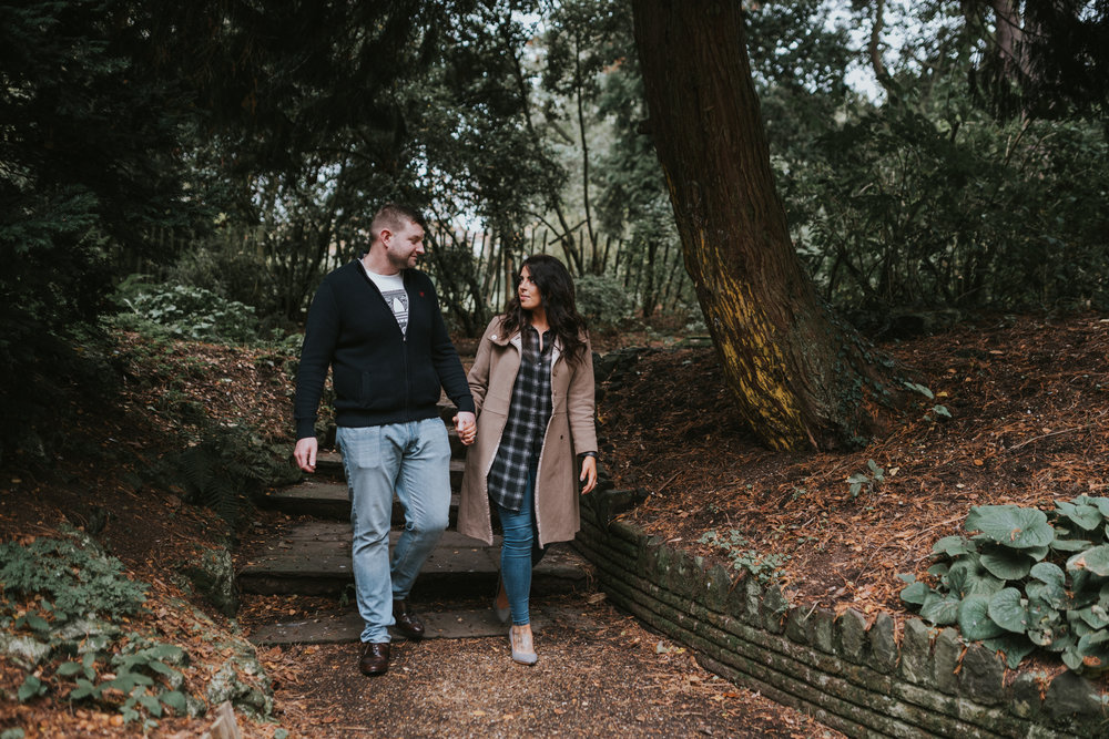 Pure Photo N.I engagement session botanic gardens in Belfast