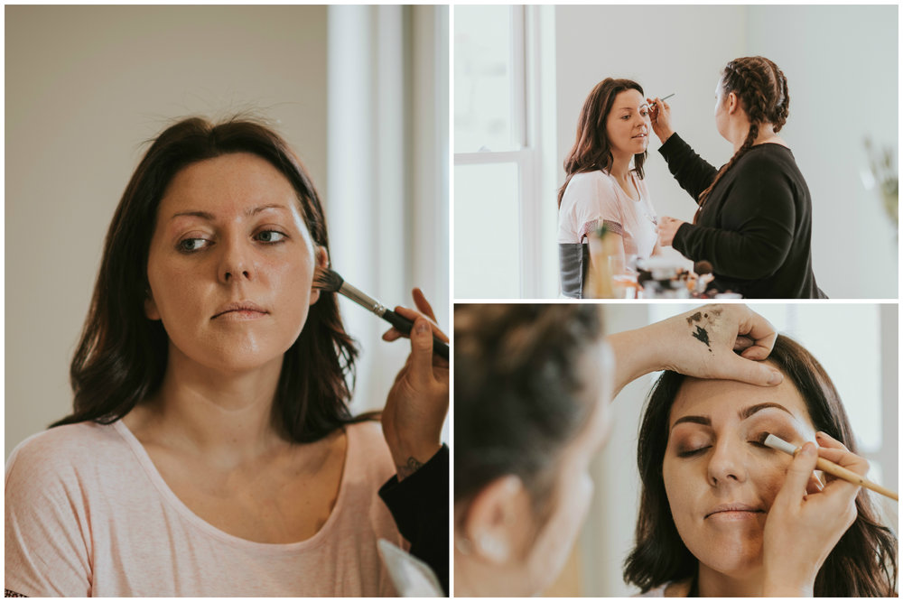 tullyglass house hotel wedding bridal make up