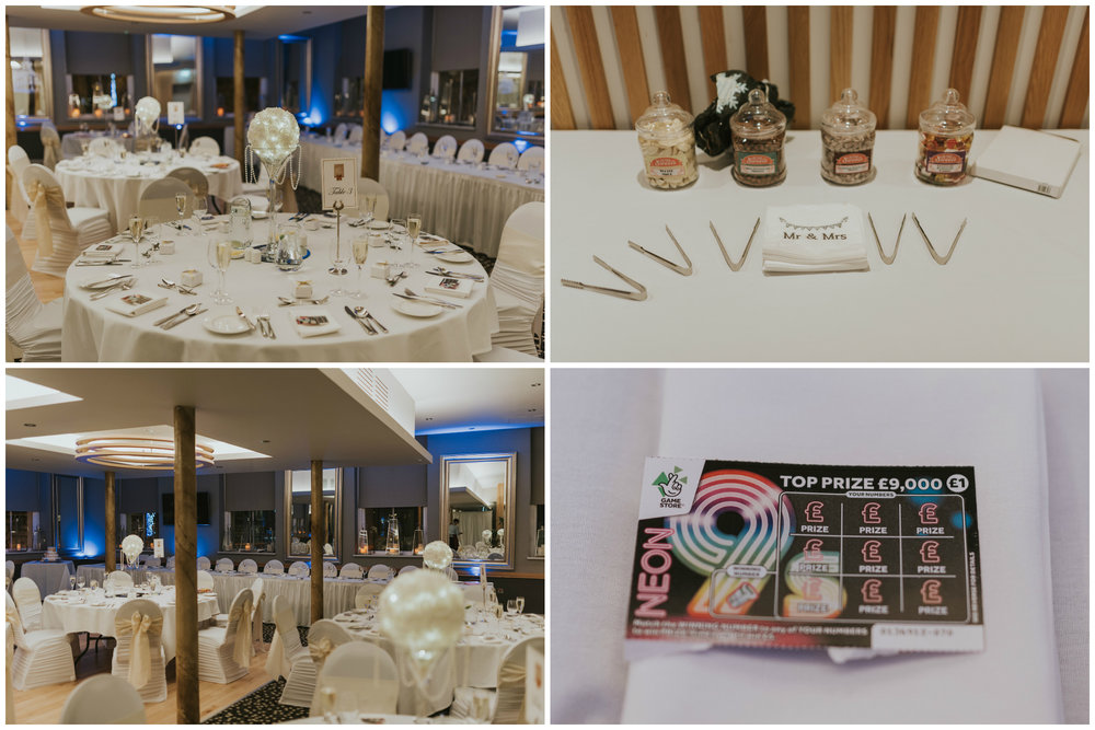 wedding ten square hotel belfast room decor