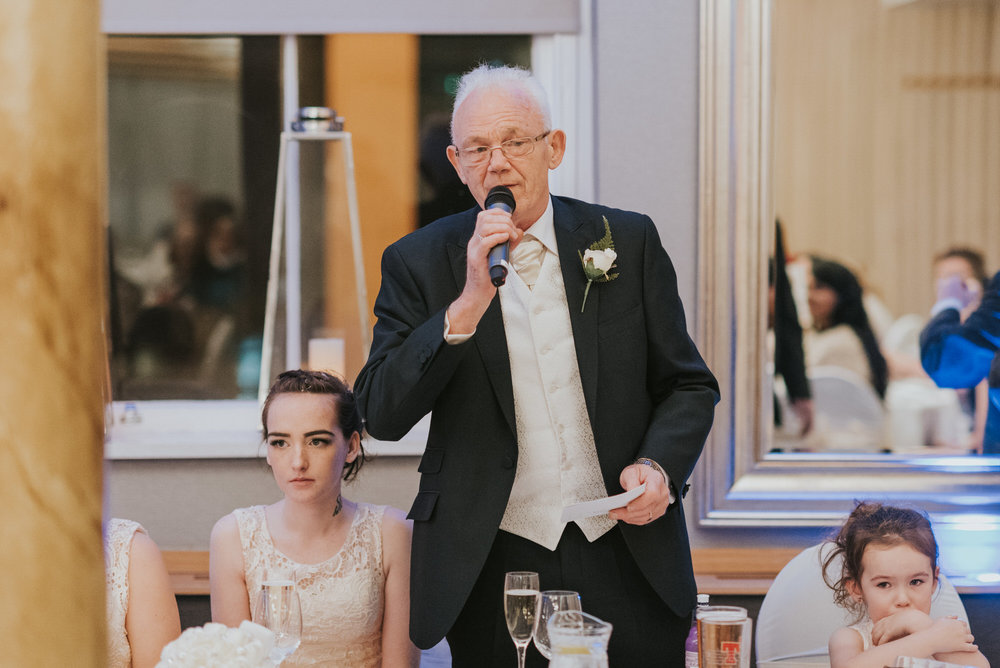 wedding photographer belfast ten square hotel granda speech