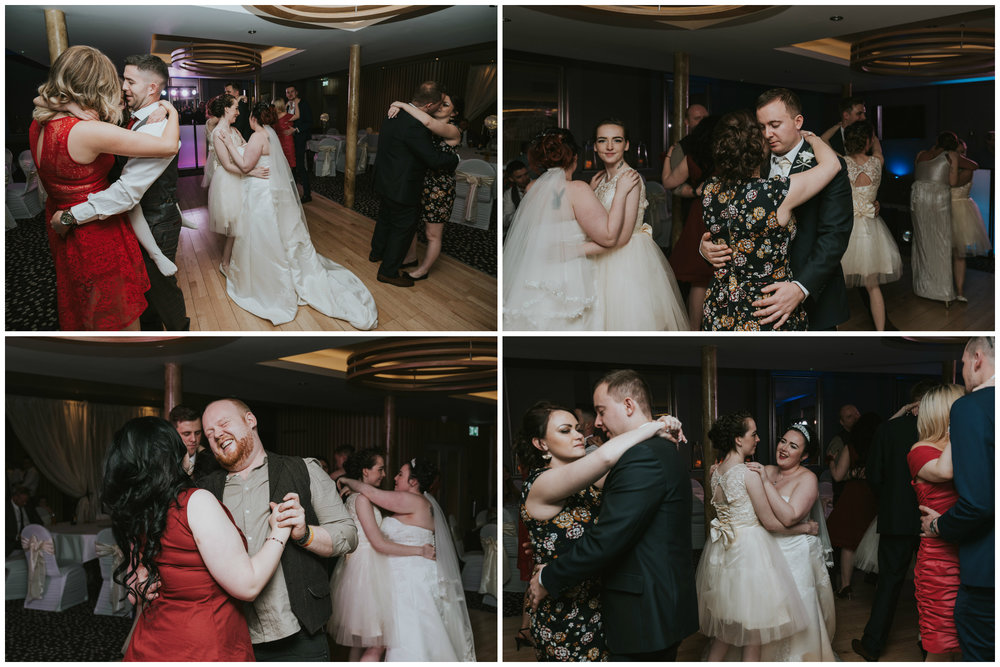 wedding photographer belfast ten square hotel dancing