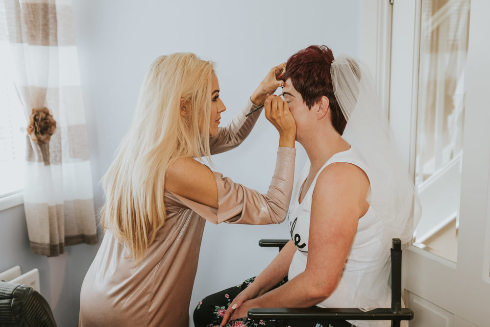 wedding beauty treatment