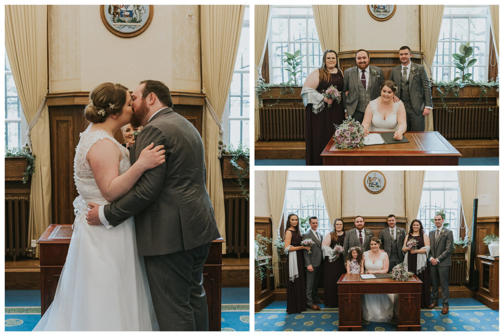 Belfast City Hall Wedding 43