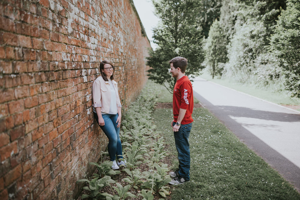 Engagement Session Bangor Walled Garden 07