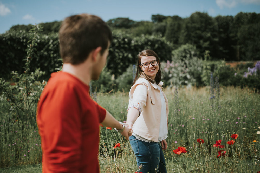 Engagement Session Bangor Walled Garden 17