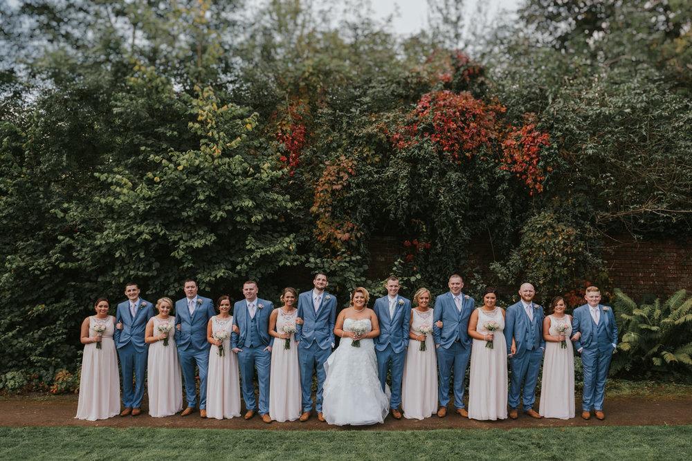 Bridal Party Belfast Wedding
