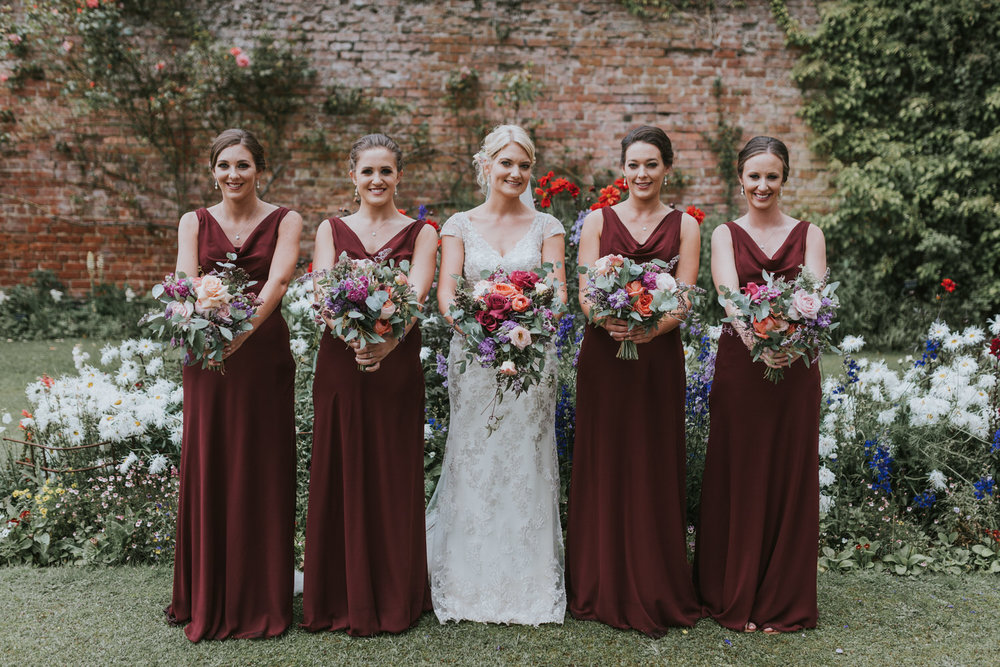 Bridesmaids Ballyscullion Park Wedding