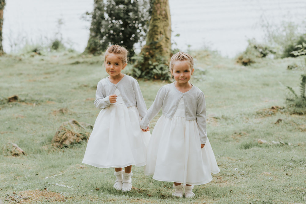 Flower Girls Lusty Beg Wedding