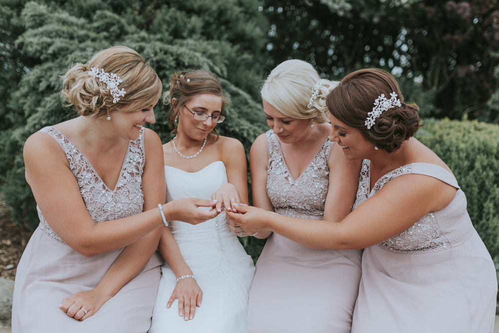 Bride and Bridesmaids Ballymac Lisburn