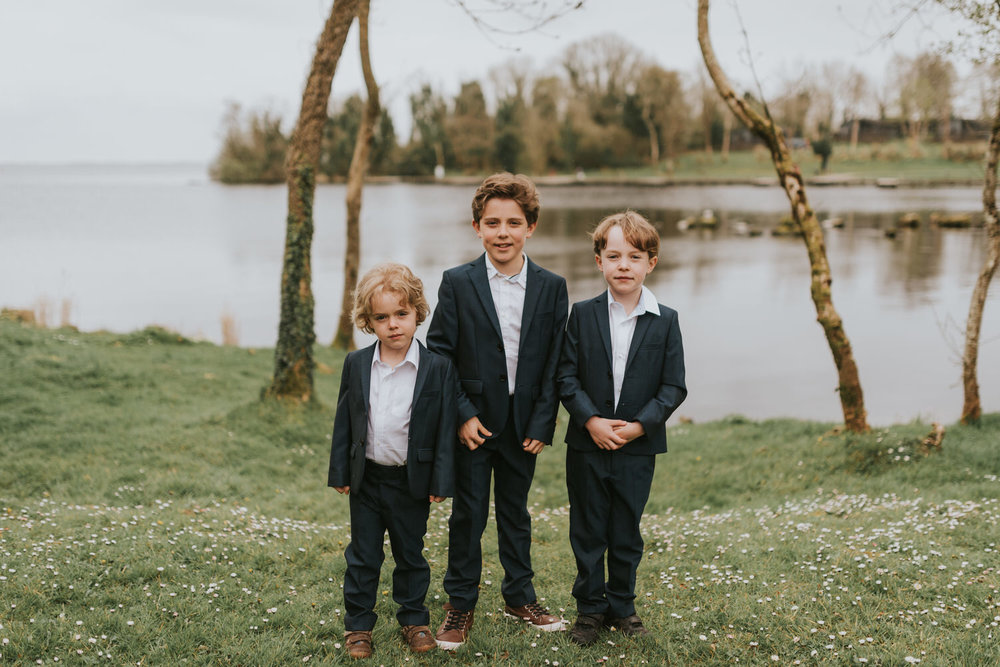 Page Boys Lusty Beg Wedding