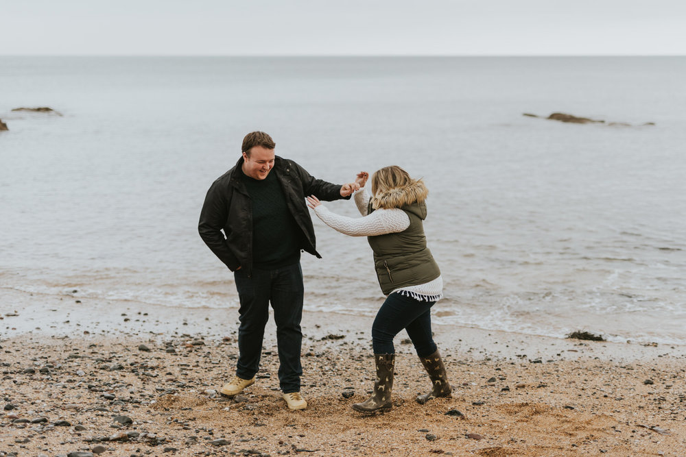 Crawfordsburn Country Park Engagement Photos 05