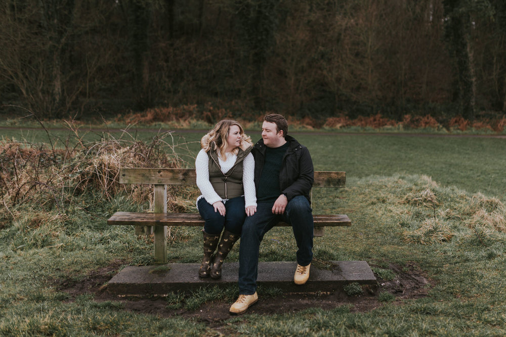 Crawfordsburn Country Park Engagement Photos 09