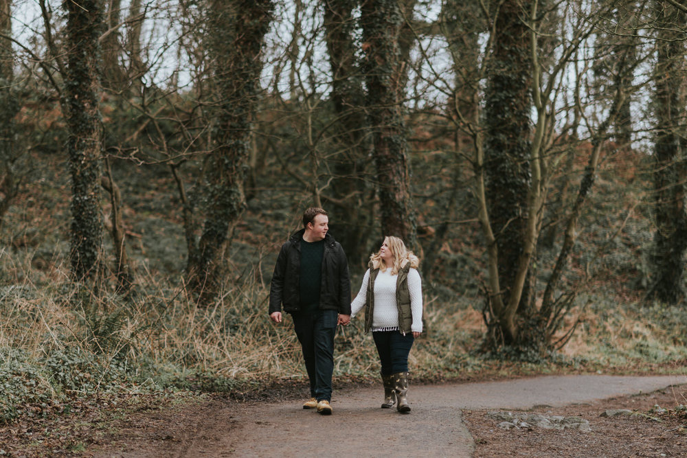 Crawfordsburn Country Park Engagement Photos 14