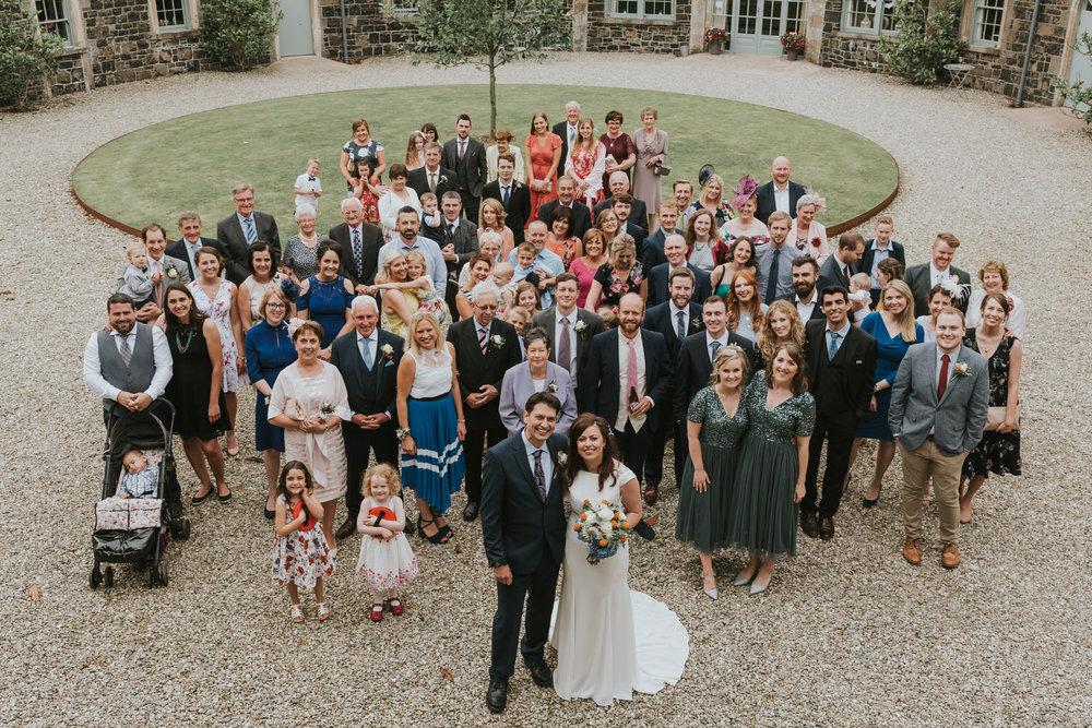Wedding photos at Lissanoure Castle