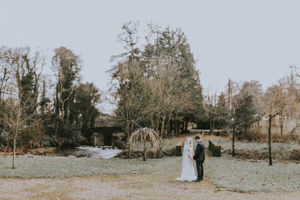 Tullylagan wedding bride and groom portraits