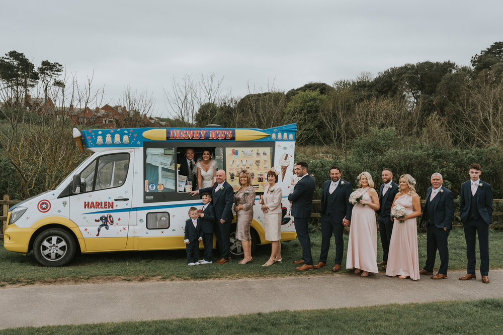 The Old Inn at Crawfordsburn Hotel wedding wedding bridal party