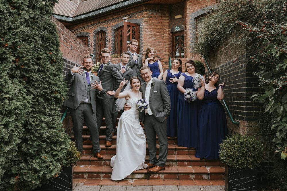 The Templeton Hotel wedding wedding bridal party