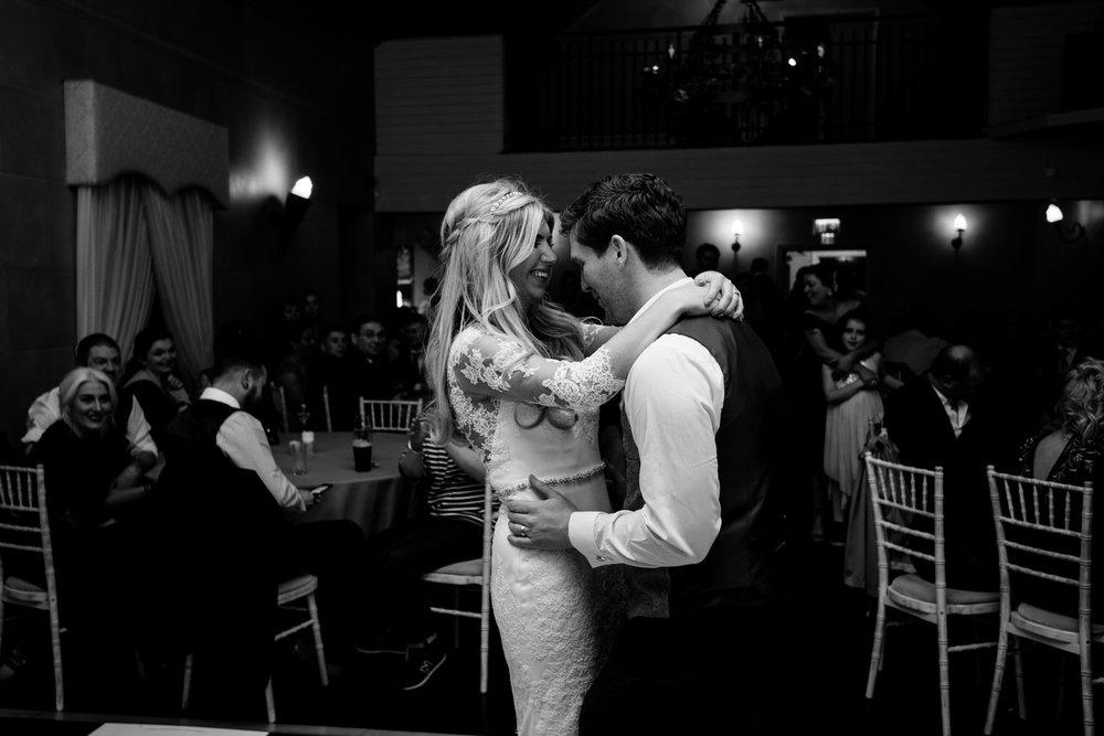 Tullylagan Wedding the first dance